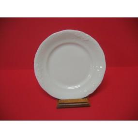 ASSIETTE A DESSERT A AILE FRYDERYKA en porcelaine blanche
