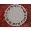ASSIETTE PLATE DECOR FRUITS GR1 EMPIRE A AILE