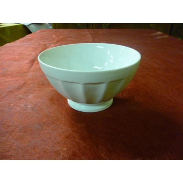bol a cotes 55cl en porcelaine blanche de 14 cm centre vaisselle sarl la porcelaine de christ le. Black Bedroom Furniture Sets. Home Design Ideas