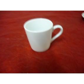 TASSE A CAFE Empire 10cl (seule) en porcelaine blanche