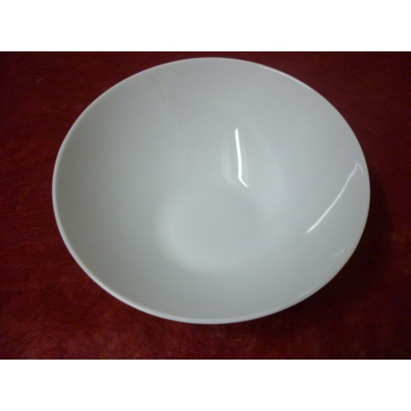 Service de table en porcelaine centre vaisselle - Saladier porcelaine blanche ...