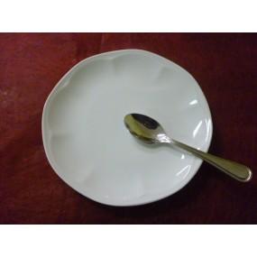 ASSIETTE A DESSERT 19cm Modèle JASTRA EN PORCELAINE BLANCHE