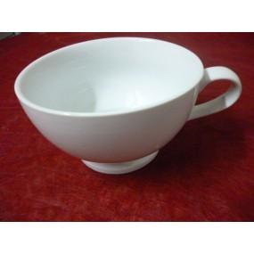 DEJEUNER TALON JUMBO 70cl à anse en porcelaine blanche