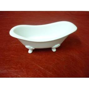 BAIGNOIRE en porcelaine blanche