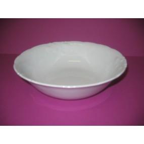 saladier fryderyka en porcelaine blanche centre vaisselle sarl la porcelaine de christ le. Black Bedroom Furniture Sets. Home Design Ideas