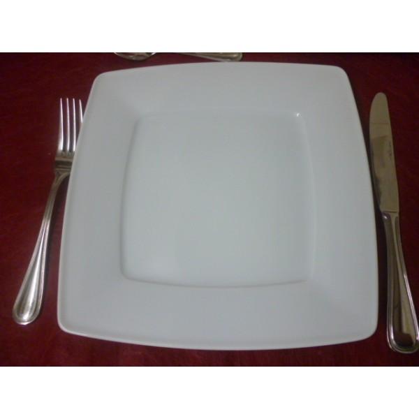 Service de table blanc rectangulaire catalogue vaisselle   Mhamiable 353650004963