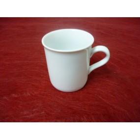 MINI MUG ou TASSE A CAFE 13cl en porcelaine blanche