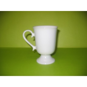 MAZAGRAN A ANSE en porcelaine blanche