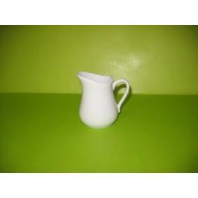 POT A LAIT  13 cl en porcelaine blanche