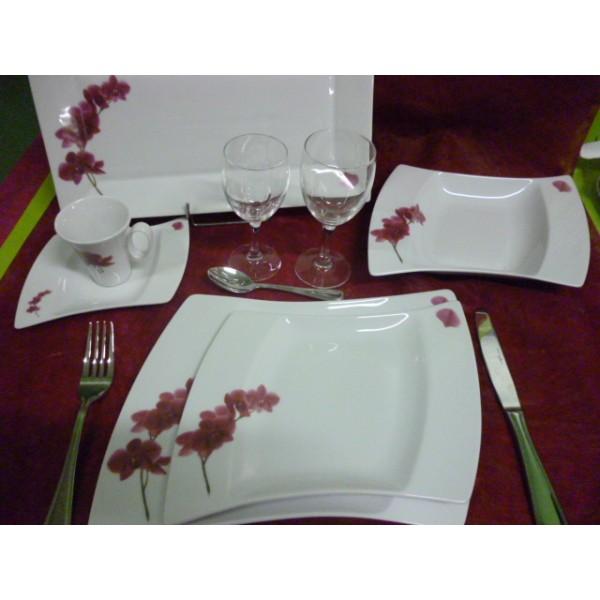 service de table vaisselle en porcelaine centre. Black Bedroom Furniture Sets. Home Design Ideas