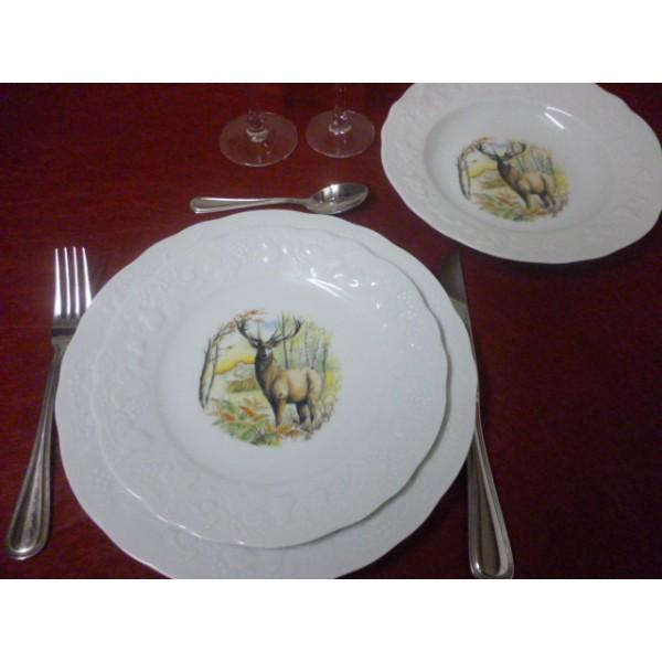 service de vaisselle en porcelaine service de table. Black Bedroom Furniture Sets. Home Design Ideas