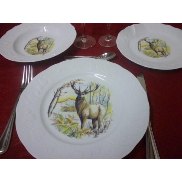 Service De Table En Porcelaine De Limoges Centre