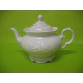 THEIERE FRYDERYKA 1.2 L en porcelaine blanche