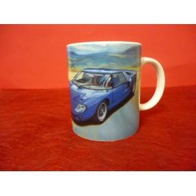 MUG Décor voiture FORD GT40 en porcelaine