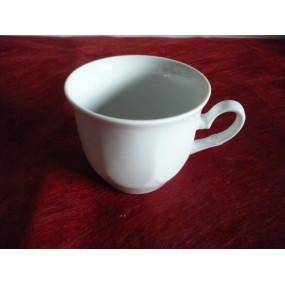 TASSE A CAFE JASTRA 15cl (seule sans soustasse) en porcelaine blanche