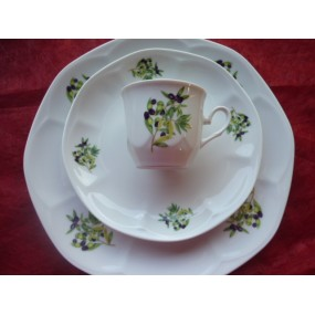 SERVICE 18 pcs DECOR OLIVES JASTRA en Porcelaine