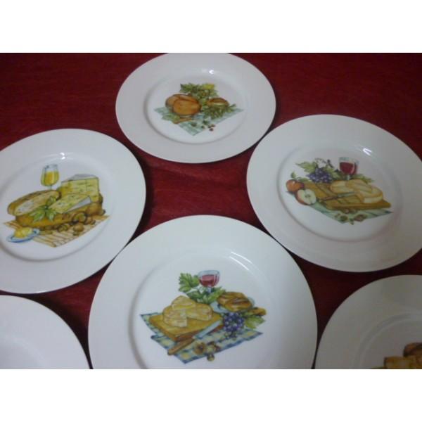 service fromages en porcelaine centre vaisselle