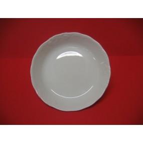 ASSIETTE CREUSE CALOTTE FRYDERYKA en porcelaine blanche