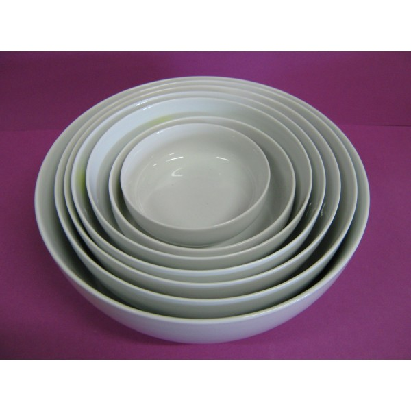 saladier boule 250cl diam en porcelaine blanche centre vaisselle sarl la porcelaine de. Black Bedroom Furniture Sets. Home Design Ideas