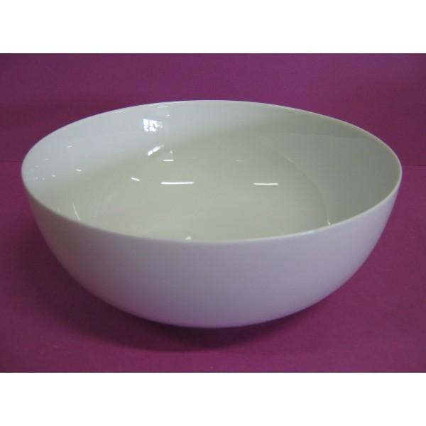 saladier boule 200cl diam 23cm en porcelaine blanche centre vaisselle sarl la porcelaine de. Black Bedroom Furniture Sets. Home Design Ideas