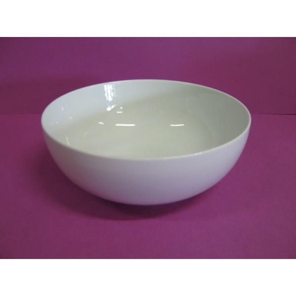 saladier boule 100cl diam en porcelaine blanche centre vaisselle sarl la porcelaine de. Black Bedroom Furniture Sets. Home Design Ideas