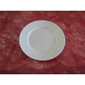 ASSIETTE A FROMAGE HELENE de 17cm en Porcelaine Blanche