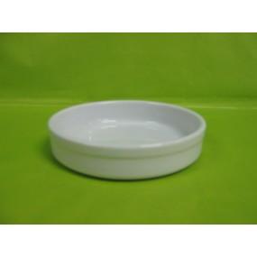 COUPELLE A FLAN OU CREME BRULEE 20cl en porcelaine blanche