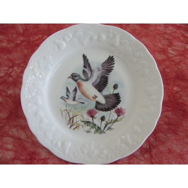 Service de table en porcelaine de limoges centre - Decoration assiette dessert ...
