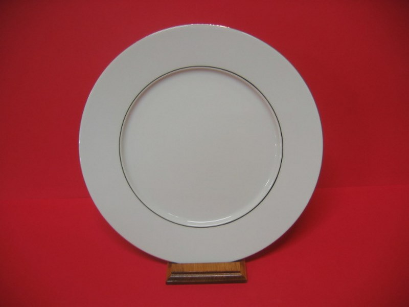 Assiette avec 2 Filets Or Empire 26 cm